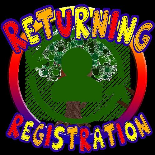 Returning Student Registration Fee