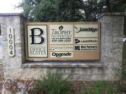 Boerne Business Commons Marquee