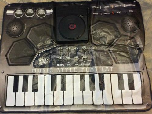 Zippy Mat Electronic Music Style Playmat Keyboard Touch Sensitive