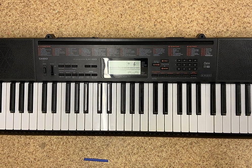 Casio keyboard and stand and stool