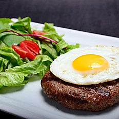 Eggsplotion Steak Burguer