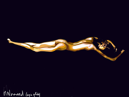Goldfinger (copie photo)/ Caisse américaine papier 165g 30x40