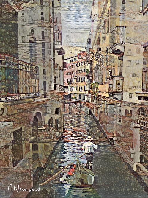 2020-05-18 Venise/ Poster sans cadre 30x45