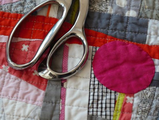 Hourglass Quilt Detail