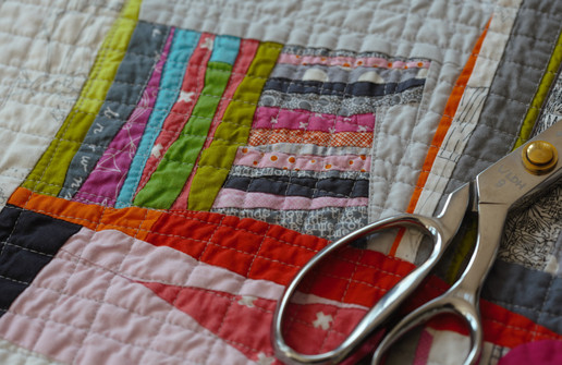 Hourglass Quilt Detail