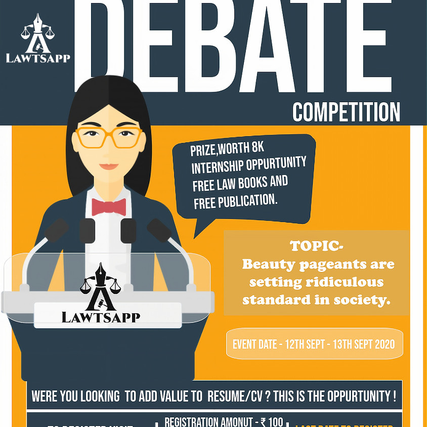 Debate and Argument Competition