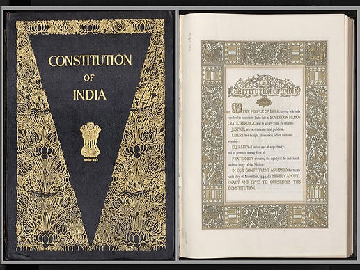 THE INDIAN CONSTITUTION GIVES JUSTICE TO ALL