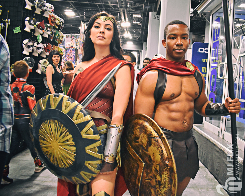 Wonder Woman and Spartan