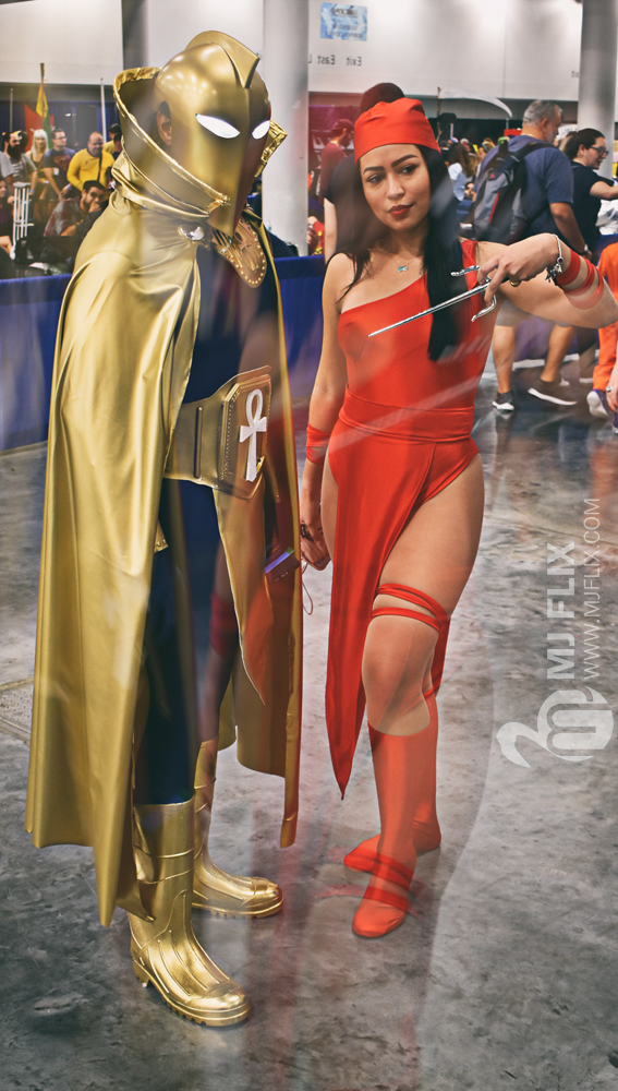 Dr.Fate and Elektra