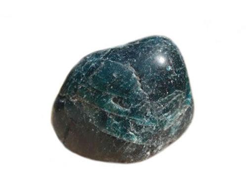 Apatite Bleue galet pierre roulée
