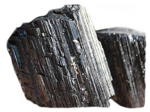 Tourmaline Noire pierre brute (200 à 250 grammes)