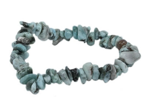 Larimar Bracelet en pierre Baroque