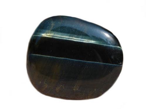 Oeil de Faucon galet pierre plate