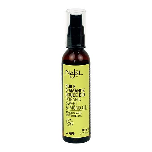 Bio - huile d'amande douce pour soin et massage 80ml