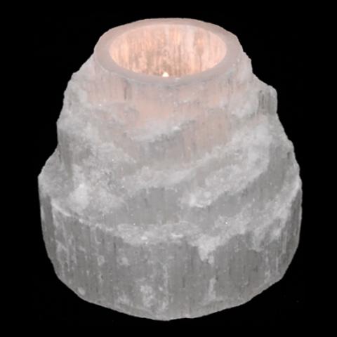 Eclairage 'Cascade Divine' Selenite