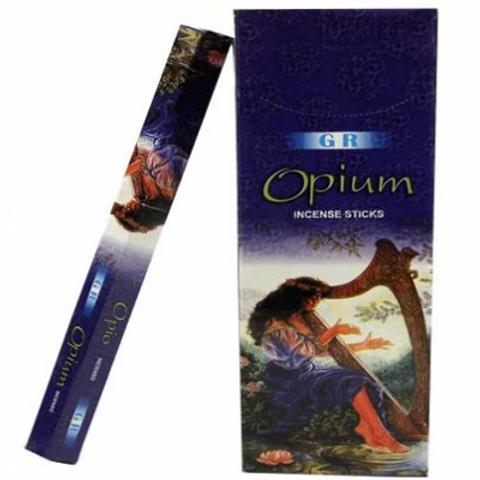 Encens Opium en boite hexagonale 20 g