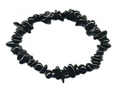 Obsidienne Oeil Céleste Bracelet en Pierre Baroque