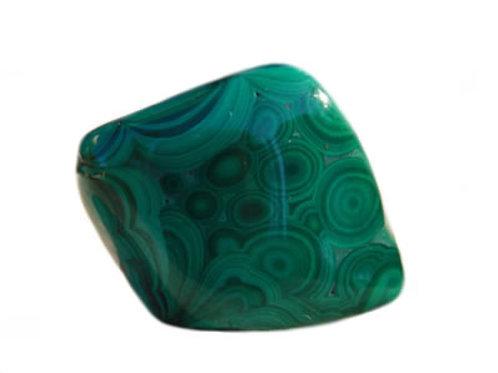 Malachite galet pierre roulée