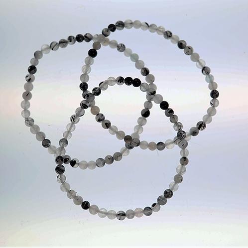 Bracelet quartz et tourmaline l'unité