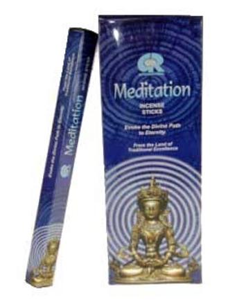 Encens Meditation en boite hexagonale 20g