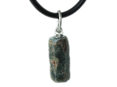 Saphir Pendentif pierre brute