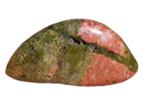 Unakite galet pierre roulée