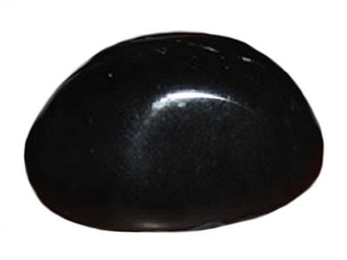 Agate Noire ou Onyx galet pierre roulée