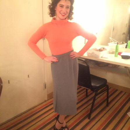 """Dressing room shot when on for Annette, """"Saturday Night Fever"""", Westchester Broadway Theatre"""