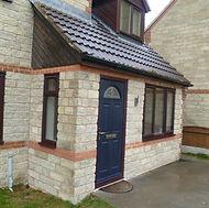 Stone garage conversion