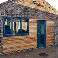 Double garage annex conversion