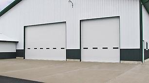 polystyrene insulated overhead doors
