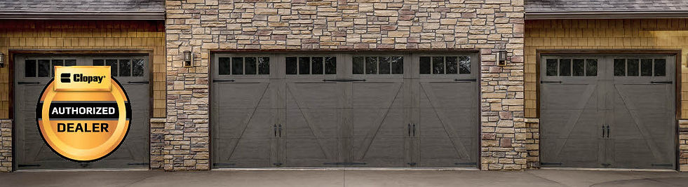 Clopay Canyon Ridge garage door