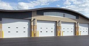 polyurethane insulated overhead doors