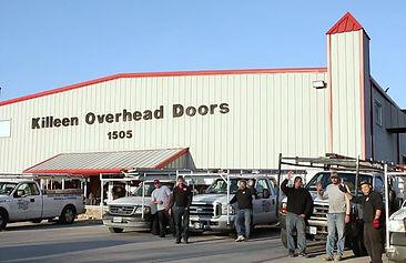 Killeen Overhead Doors service technicians 2017