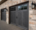 Clopay carriage house style garage doors