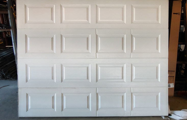 #5 9x7 Clopay 4050 Insulated White