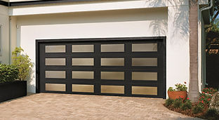 Clopay Modern Steel Collection garage doors