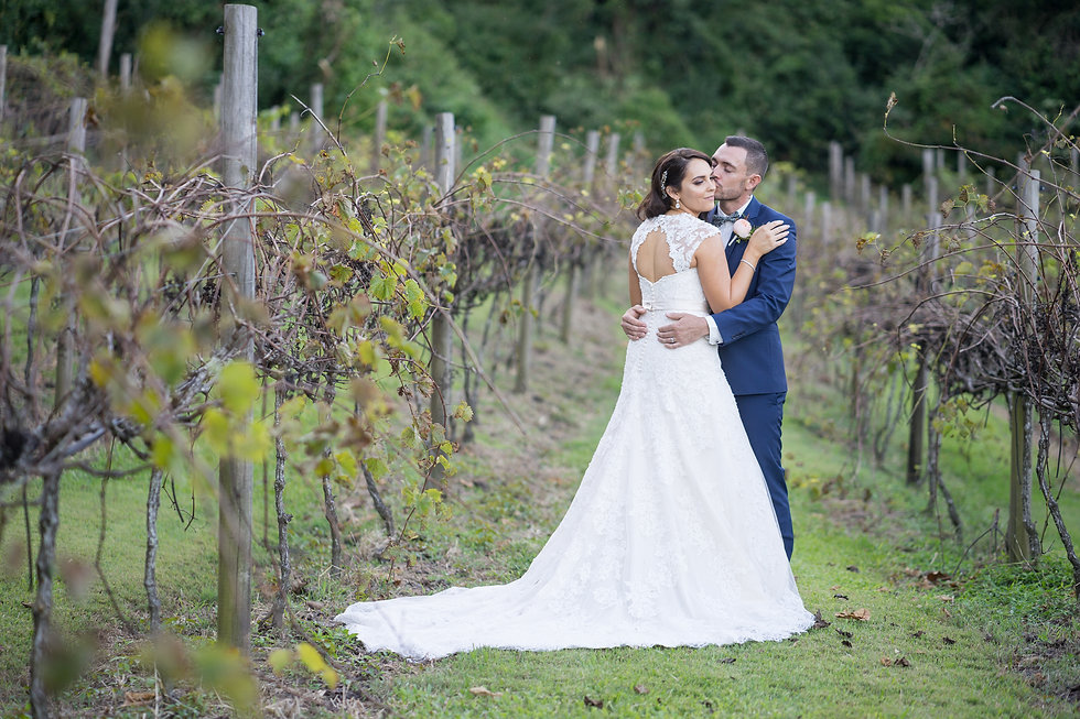 Wedding Photography and Videography Brisbane | Groom kissing the bride photo