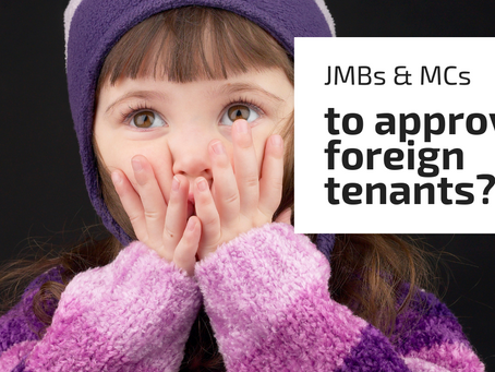 JMBs To Approve Foreign Tenants?