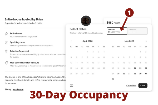 How to gauge occupancy in an area