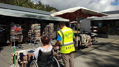 ♿ Cabo Girao Tour de medio día en silla de ruedas / discapacitados