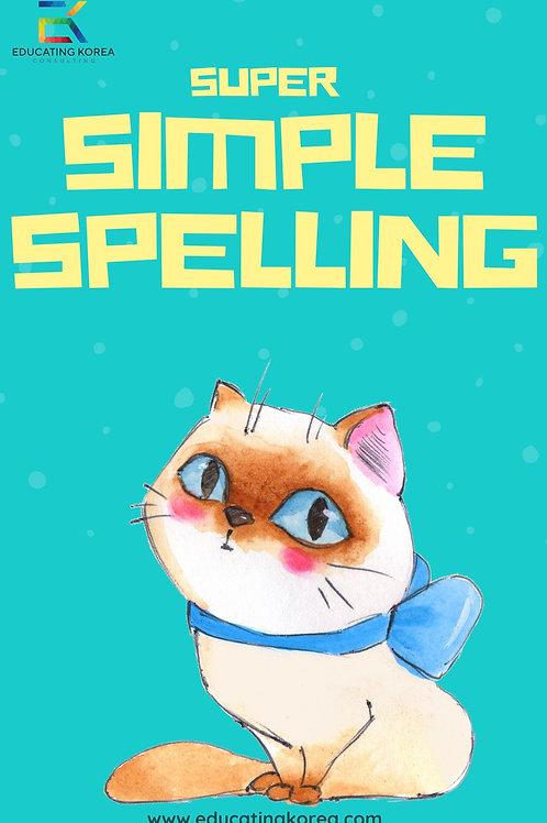 Super Simple Spelling Workbook
