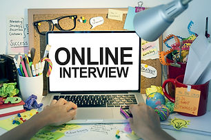 Online Interview / Business interview on