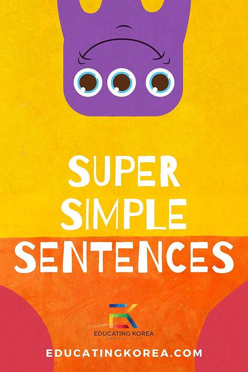 Super Simple Sentences Workbook
