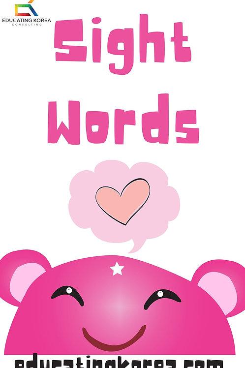 Sight Words Workbook