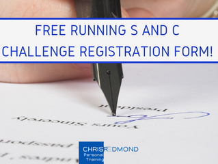 CHRIS REDMOND PT FREE RUNNING STRENGTH AND CONDITIONING CHALLENGE