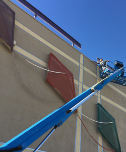 Recreational Building Painting