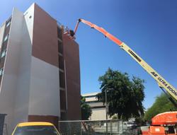 University Campus Painting