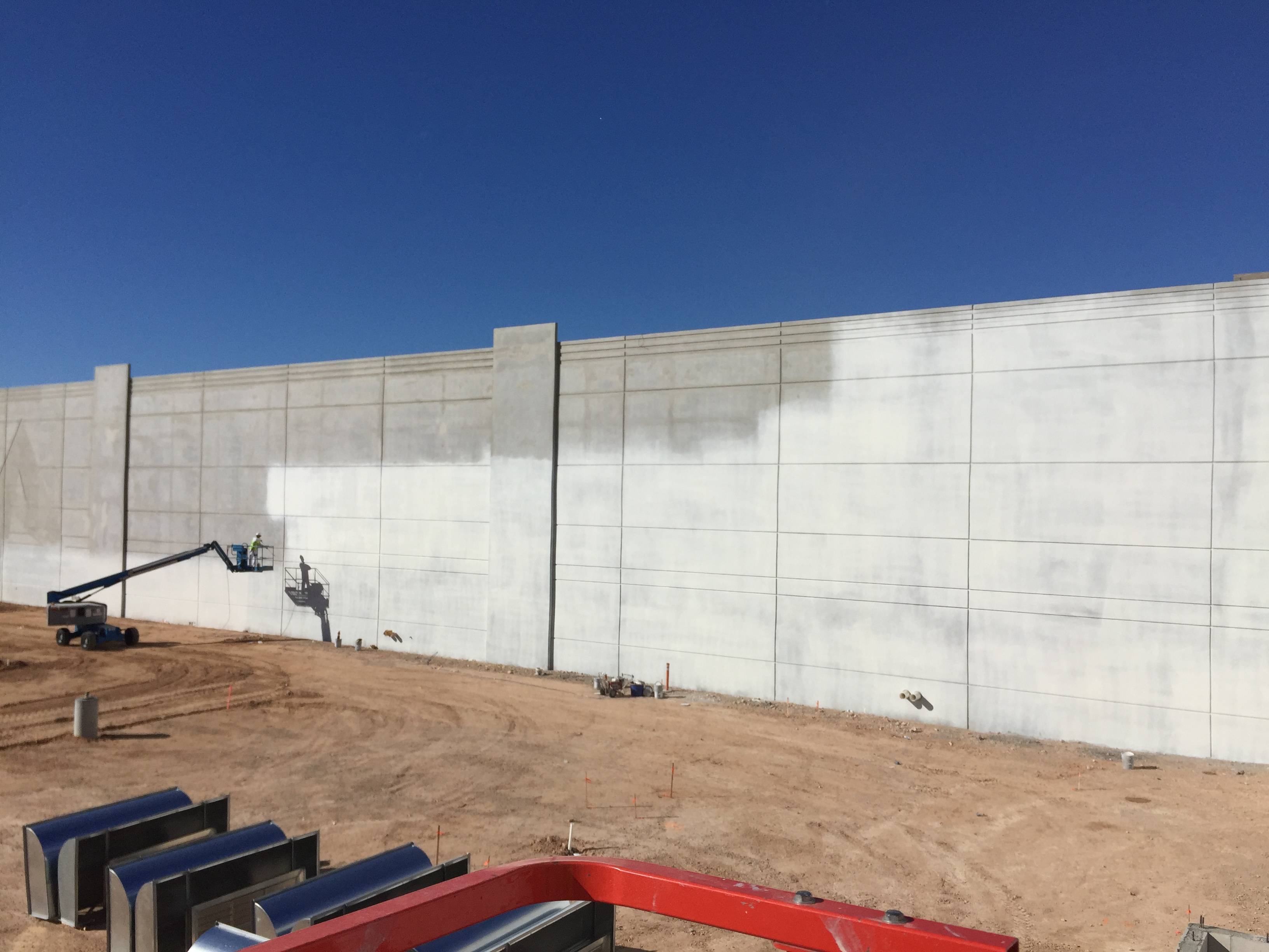 Concrete Tilt-up painting