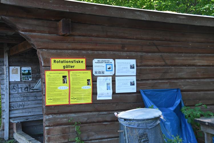 Information om studie och fiskeregler